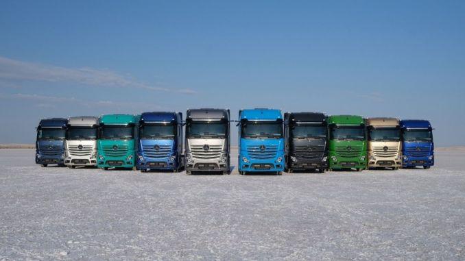 mercedes benz turk kamyon suruculerine destegini surdurmeye devam ediyor