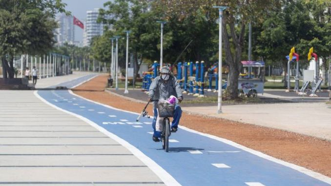 percent of myersin bicycle path project has been completed
