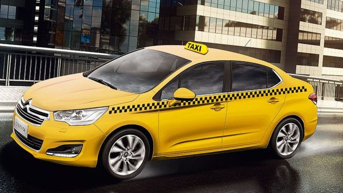 commercial taxis turn into lemon yellow in Mersin