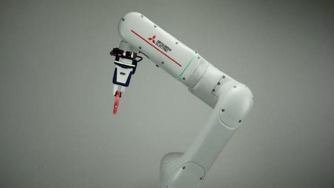 وأوضح ميتسوبيشي إلكتريك تقنيات الروبوت المتقدمة