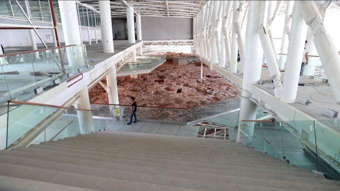 مشروع متحف مقبرة سيلتقي الجمهور بتاريخ عمره ألف عام