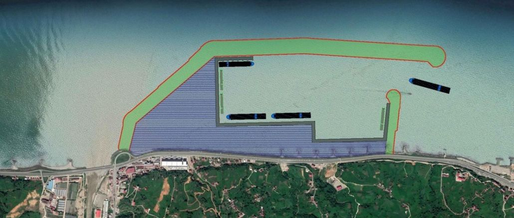 Pri projektu rize iyidere logističnega pristanišča bo uporabljen okoljsko občutljiv pristop