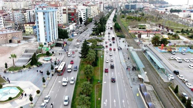 samsun smart city traffic safety project will be made by aselsan