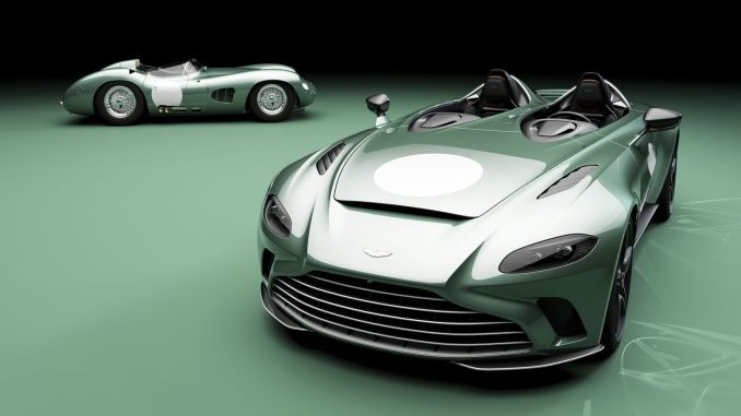 limited production met with aston martin v speedster