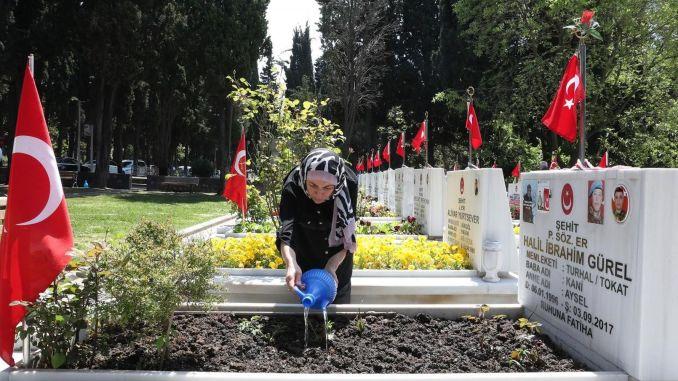 Katapusan nga minuto pagbisita sa sirkulo sa mga pamilya sa mga martir gikan sa sementeryo sa panahon sa holiday