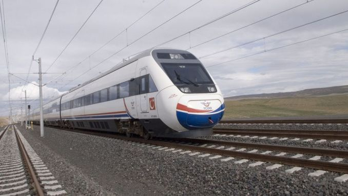 ankara istanbul high speed train with the decision of may ministry