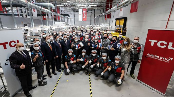 TCL started smart phone production in Turkey