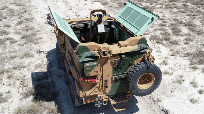 Delivery of the alkar mortar weapon system integrated to the tskya armored vehicle