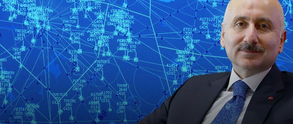 V prvem mesecu leta je skozi turški zračni prostor minilo eno letalo