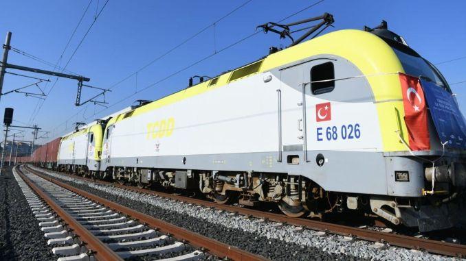 اليوم السادس والسابع من قطارات التصدير بين تركيا والصين سيكونان على الطريق