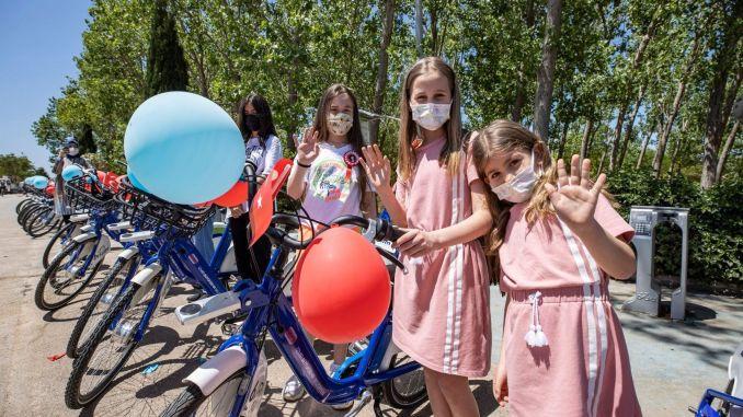 تم إطلاق مشروع دراجات الأطفال في إزمير لأول مرة في تركيا