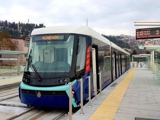 Unkapani intersection is being renewed and the tram reaches to Eminonu