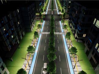 يجري تجديد شارع فان إيريك داغي