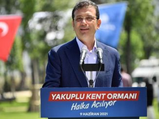 Tausend Quadratmeter Stadtwald von Yakuplu wurden in Betrieb genommen