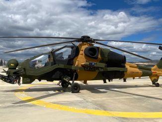 54-asis T129 sraigtasparnis ATAK įrašytas į sausumos pajėgų vadovavimo inventorių