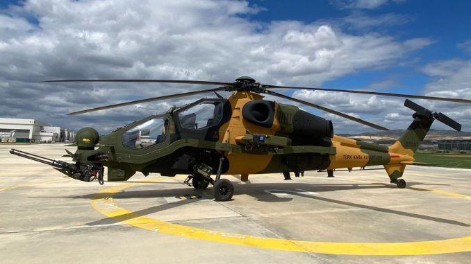 54.o helicóptero T129 ATAK ingresó al inventario del comando de las fuerzas terrestres