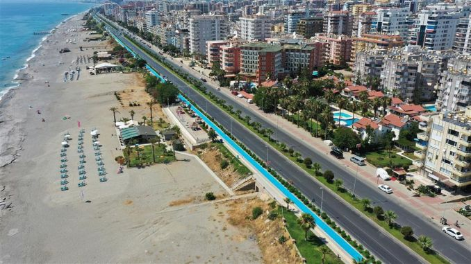 انتهى مشروع طريق Dinek Kargicak للدراجات