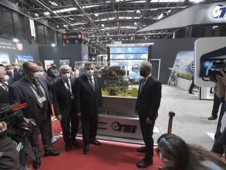 Die Eskisehir Industry Fair öffnete mit Toren . ihre Türen für Besucher
