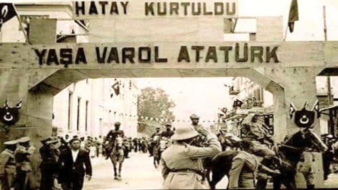 Hatay Devleti Turkiye Topraklarina Katildi