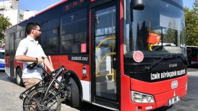 Bus permit for folding bikes
