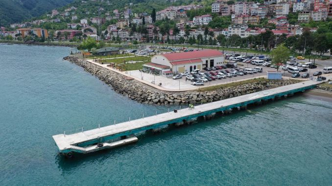 Persembe Pier Renovation Works Started