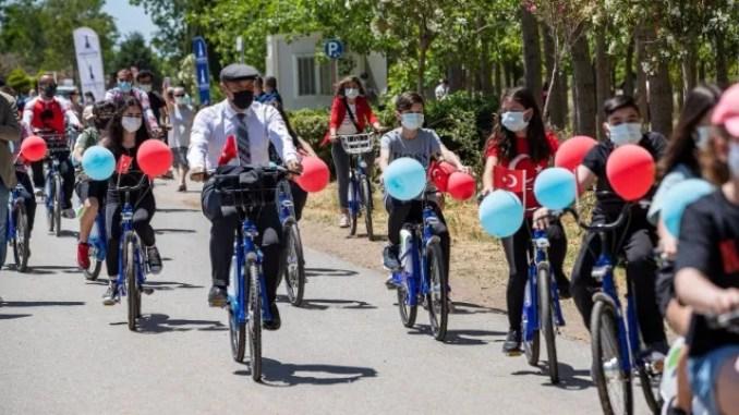 Soyer We encourage nature-friendly transportation