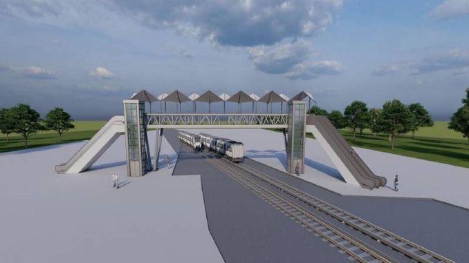 Tarsusa Modern Pedestrian Overpass