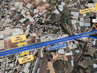 سيتم إغلاق تقاطع منطقة أكسو إسبرطة متعدد الطوابق أمام حركة المرور