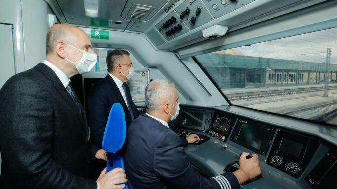 New stations will be built on the Ankara-Sivas YHT line