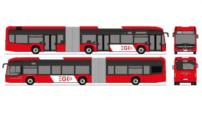 People of Ankara have decided that ego buses will be red and white.