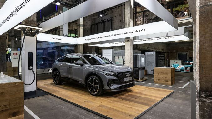 كما تحدث مهرجان Audi greentech عن التقنيات البيئية