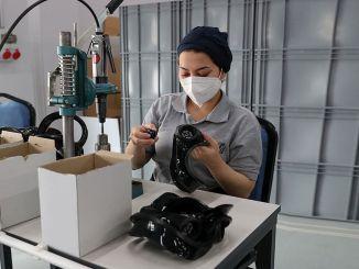 Europas maskefabrik med høj kapacitet åbnet i zonguldak