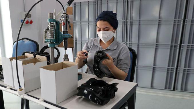 Europe's highest capacity mask factory opened in zonguldak