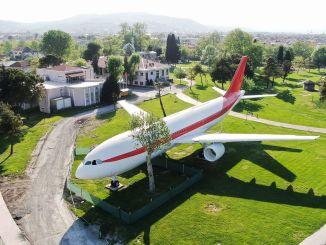 Vagon će biti postavljen pored zrakoplovnog restorana u parku svetih.