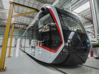 bozankaya وقعت منتجات عالية التقنية الإنتاج المحلي ترام الركاب الأوروبيين