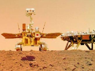 Jin memecahkan tanah dengan misi eksplorasi Mars pertamanya