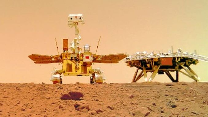 The genie broke ground with its first Mars exploration mission