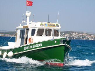 دعونا نحمي البحار قبل أن تلوث أركاس تورميبا II قارب جمع النفايات افتتح موسم الصيف