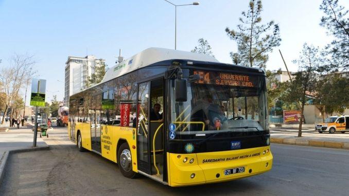 new transportation line to Diyarbakir Research Hospital