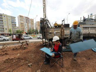 بدأت أعمال المسح الأرضي في مشروع ترام ديار بكر