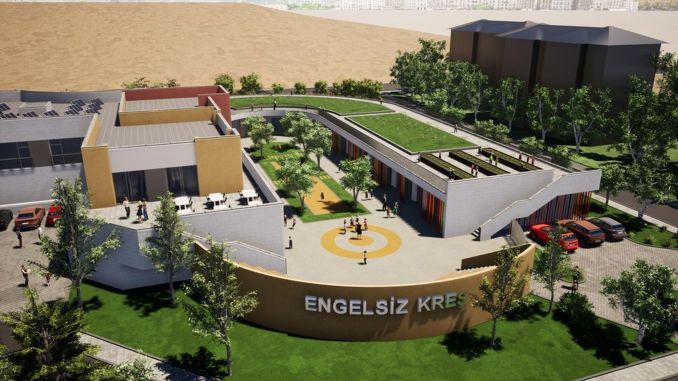 barrier-free kindergarten and children's park will suit Ankara very well