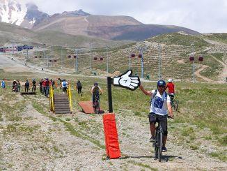 erciyes cykelpark cykelsæson er startet med sjove spil