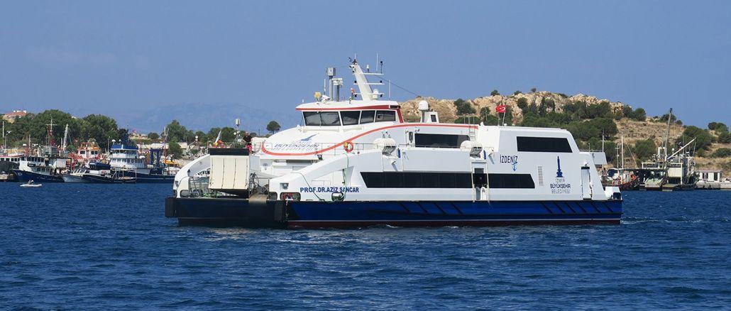 Weekend ferry services to foca mordogan and urla start