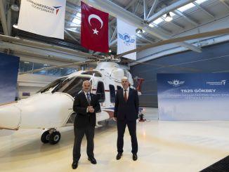 gokbey helikopters saņēma projektēšanas organizācijas apstiprinājuma sertifikātu