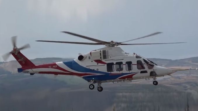The third prototype of the gokbey helicopter started its certification flights
