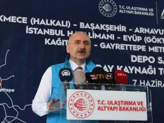 ハルカリ線とゼンギンテペ線がイスタンブールで最速の地下鉄になります。