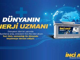 İnci Aku wurde zur wertvollsten Batteriemarke der Türkei gewählt.