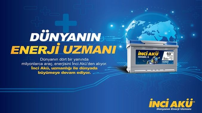 İnci Aku was chosen as the most valuable battery brand in Turkey.