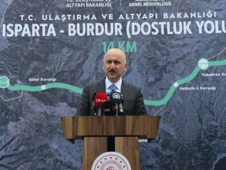 isparta burdur friendship road will be completed within this year