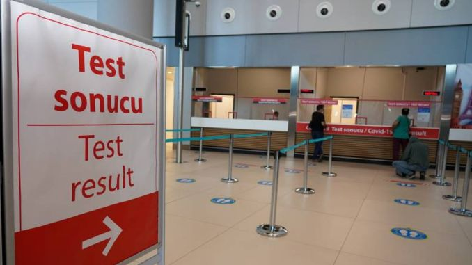 covid test in minutes at istanbul airport